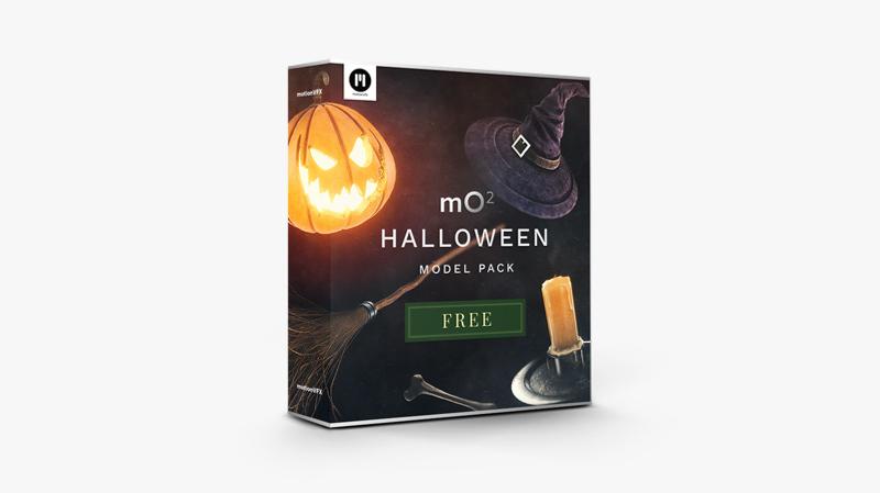 mO2 Halloween Model Pack