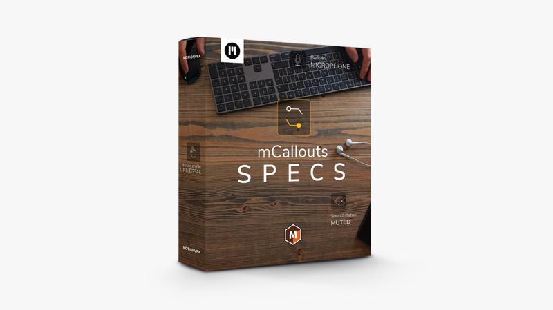 mCallouts Specs